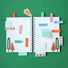 Sticky tab overload - what can we say, we like to be organised!