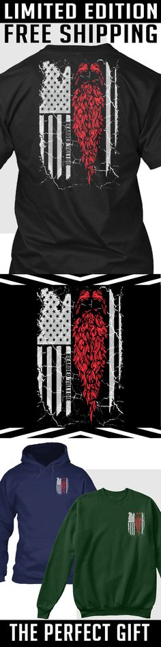 Beard American Flag - Limited Edition. Only 2 days left for free shipping, get it now!