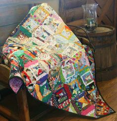 Carol Ann Waugh's Waste Not, Want Not in QN's Best Scrap Quilts 2014