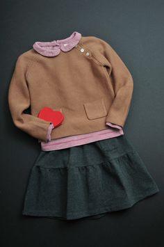 Mathilde Topper - Wonderland Jumper - Francie Skirt