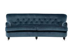soffa tilbury sammet