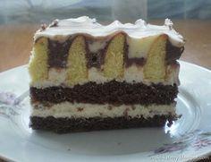 Ciasto Góra lodowa (z mlekiem w proszku)