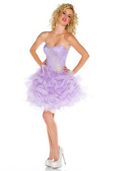 My sweet dress. Also an amazing prom dress Lilac Prom Dresses, Puffy Dresses, Best Prom Dresses, Lilac Dress, Gala Dresses, Homecoming Dresses, Strapless Dress Formal, Short Dresses, Puffy Skirt