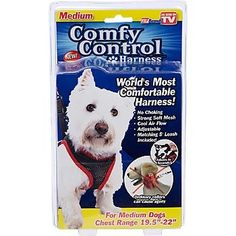 "Comfy Control Harness- Medium (19.5""-22"" Chest) today on amazon ON SALE for just $8.59. find it here by clicking on the picture to get to the listing. see more great items at www.ddsgiftshop.com"