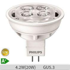 PHILIPS CorePro LED spot replacement for halogen spots, socket, with warm white light Spot Led, 5 W, Led Lampe, Lamp Bulb, White Light, Bedroom Inspiration, Lighting, Warm, Waterfalls