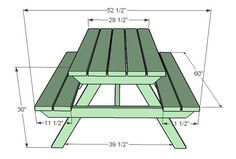 Ana White | Build a How to Build an Adult Picnic Table | Free and Easy DIY Project and Furniture Plans