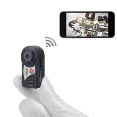 FREDI Mini Portable P2P WiFi IP Camera Indoor/Outdoor HD DV Hidden Spy Camera Video Recorder Security Support iPhone/Android Phone/ iPad /PC Remote View, 2016 Amazon Top Rated Surveillance Cameras  #Electronics Home Video Surveillance, Security Surveillance, Surveillance System, Security Camera, Hidden Spy Camera, Wireless Ip Camera, Wireless Home Security Systems, Camcorder, Wifi