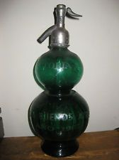 ANTIQUE GREEN SELTZER BOTTLE SIPHON 1907 BUENOS AYRES ebay