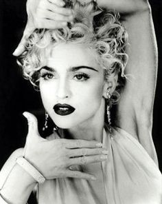 Madonna photographed by Herb Ritts in her iconic 'Vogue' pose. Madonna at her best I think. Madonna Vogue, Madonna 80s, Madonna Costume, Madonna Music, Divas, Madonna Images, Madonna Concert, Madona, Art Visage