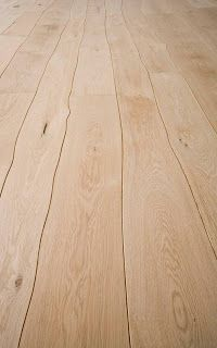 Waney edge floor