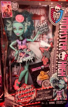 Monster High Frights Camera Action New Release Honey Swamp