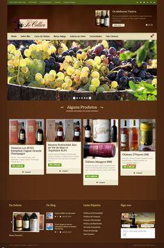 Le Cellier - http://www.publicidadecampinas.com/portfolio/cellier/