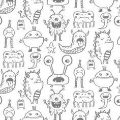 Clothworks - Super Bad Monsters (White)