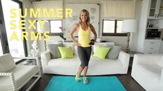 My Summer Slim Down Workout Series is here!!!! I designed these quick mini workouts to JUMPSTART your SUMMER BODY! Are you ready to get sexy arms??? Let's ge...