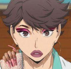 Haikyuu Manga, Haikyuu Funny, Haikyuu Fanart, All Meme, Funny Anime Pics, Kuroo, Oikawa, Animes Wallpapers, Anime Characters