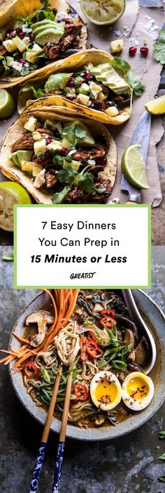 If you've got 15 minutes to prep, the pots, pans, and slow cookers will do the rest. #greatist https://greatist.com/eat/easy-dinners-from-half-baked-harvest