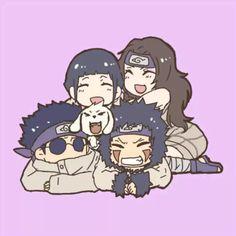 Shino, Hinata, Kiba e Kurenai Anime Naruto, Kakashi Sensei, Naruto Sasuke Sakura, Naruto Comic, Naruto Uzumaki Shippuden, Sarada Uchiha, Naruto Cute, Anime Chibi, Naruhina