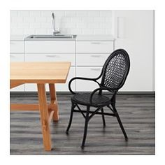 IKEA - ÄLMSTA, Chair, Each piece of furniture is unique as it is handmade.Furniture made of natural fiber is lightweight but also sturdy and durable.