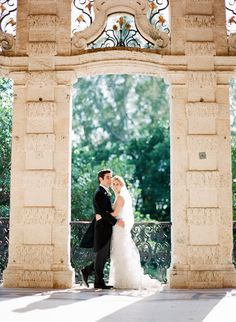 Photography: KT Merry Photography - ktmerry.com Event + Floral Design: Karla Conceptual Event Experiences - karlaevents.com/  Read More: http://stylemepretty.com/2012/06/29/miami-wedding-at-vizcaya-museum-gardens-by-kt-merry/