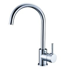 European Quality Standard Kitchen Faucet Chrome Finished Hot