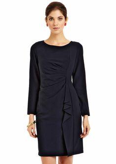 Jessica Howard Side Ruffle Sheath Dress