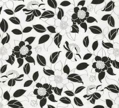 016 Floral Print | Black & White