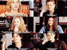 Damon or Stefan? lol
