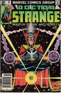 Doctor Strange 1974 2nd Series 49  October 1981 by ViewObscura, $3.00