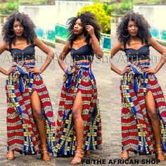 Nono Maxi Skirt by THEAFRICANSHOP on Etsy, £45.00