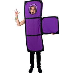 Disfraz pieza T del Tetris unisex