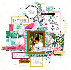 About a Girl - Crate Paper - Flourish Collection