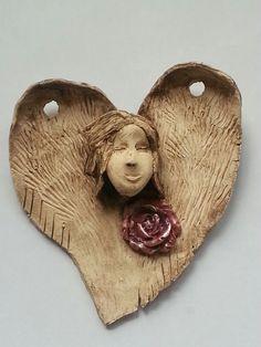 Anděl s růží