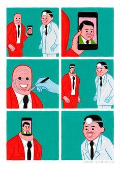 【最新作】意味不明。スペインの漫画家が描く不条理な6コマ・イラストレーション集 | 展覧会情報・写真・デザイン|ADB