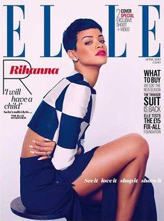 Rihanna for Elle UK