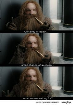 Gimli is purely awesome XD