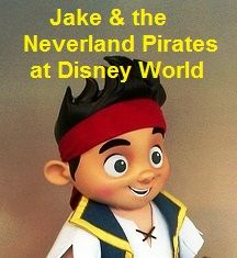 For a list of all the places to find Jake and the Never Land Pirates at Disney World, see: http://www.buildabettermousetrip.com/jake-neverland-pirates