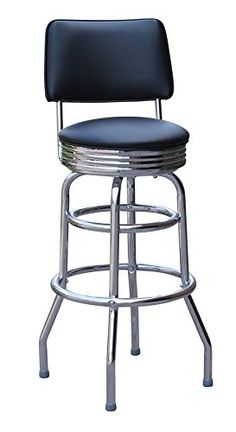 Jet Black 30 Inch Retro Bar Stool with Back - Made in the USA (0-1972BLK) Richardson Seating http://www.amazon.com/dp/B00JKTRA8M/ref=cm_sw_r_pi_dp_25JOwb1VRZA6X