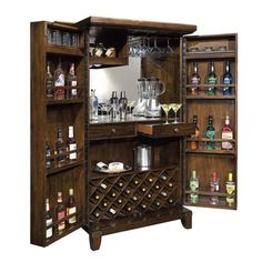 The Very Best Wine Storage & Liquor Cabinets from Howard Miller
