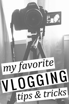 Favorite Vlogging Tips and Tricks the best beginner vlogging tips and tricks - from gear, to filming setup, filming tips, and more! Social Marketing, Marketing Website, Marketing Online, Affiliate Marketing, Inbound Marketing, Digital Marketing, Content Marketing, Marketing Tools, Marketing Strategies