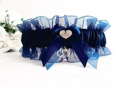 Police Wedding Garter - I Love My Policeman Garter - Something Blue Ga – Creative Garters
