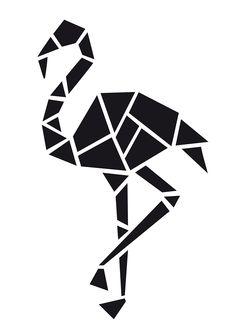 Origami Bear Wall Decal Not all who wander are lost Sticker Art Decor Bedroom Design Mural quotes animal art Geometric Stencil, Geometric Drawing, Geometric Shapes, Geometric Animal, Stencil Art, Stencil Designs, Arte Sharpie, Polygon Art, Peacock Art