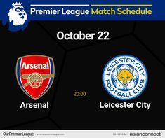 Match Schedule, Premier League Matches, Clu, Leicester