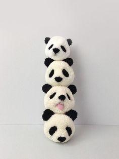 How to make a panda pompom - Pom Maker Blog