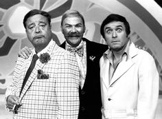 Jackie Gleason, Rip Taylor, and Mike Douglas. Rip Taylor, Merv Griffin, Jackie Gleason, A Funny Thing Happened, The Mike, Old Shows, Tv Land, Suit Jacket, Shit Happens