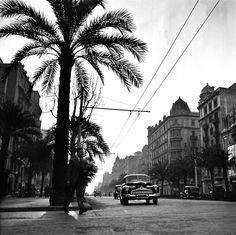 Barcelona 1953 Avinguda Diagonal