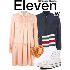 Inspired by Millie Bobby Brown as Eleven on Stranger Things