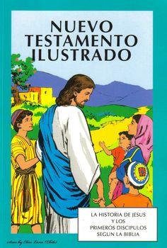 Un recuento del Nuevo Testamento a todo color en forma de historieta: https://comicscristianos.wordpress.com/2012/02/27/nti/