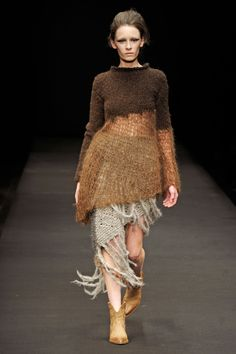 Gudrun & Gudrun present clothing as art.