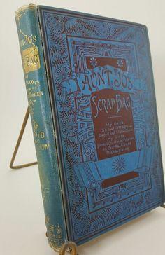1898 Aunt Jo's scrap bag Louisa May Alcott hardcover Robert Brothers BEAUTIFUL | Books, Antiquarian & Collectible | eBay!