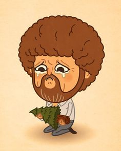 Bob Ross, you will paint that tree alive someday... with lots of happy little friends!